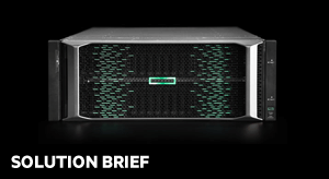 Mission-critical redefined: HPE Primera