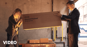 World's first unboxing of HPE Primera!